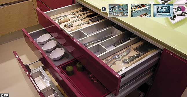 Tiroir cuisine - Rangement tiroir cuisine ikea ...